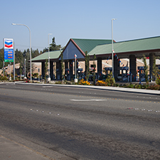 Marine Drive Chevron gas station at Quil Ceda Village