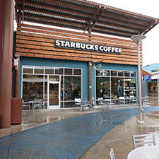 Starbucks Seattle Premium Outlets South at Quil Ceda Village