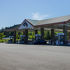 116th Chevron gas station at Quil Ceda Village
